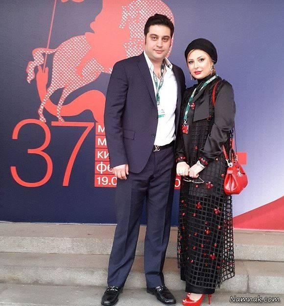 نیوشا-ضیغمی-و-همسرش-در-مسکو