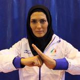 الهه منصوریان ووشو کار تیم ملی همسر آینده اش را تهدید کرد + عکس
