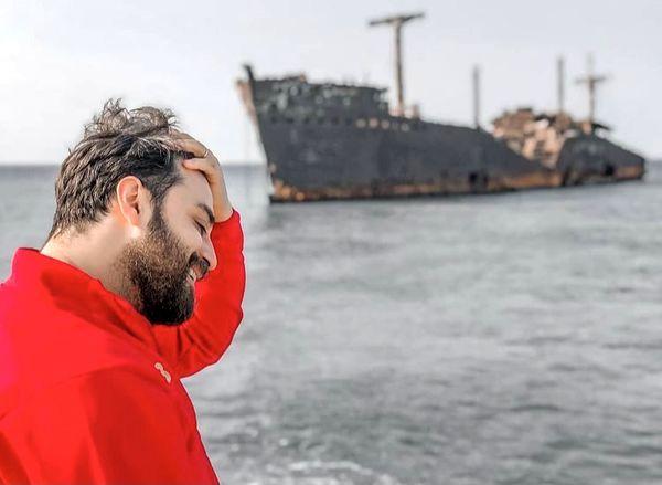 بابک جهانبخش در کیش + عکس