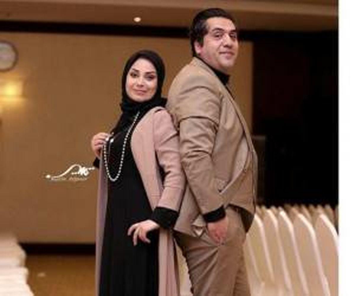 عاشقانه های صبا راد و همسرش در ترکیه + عکس