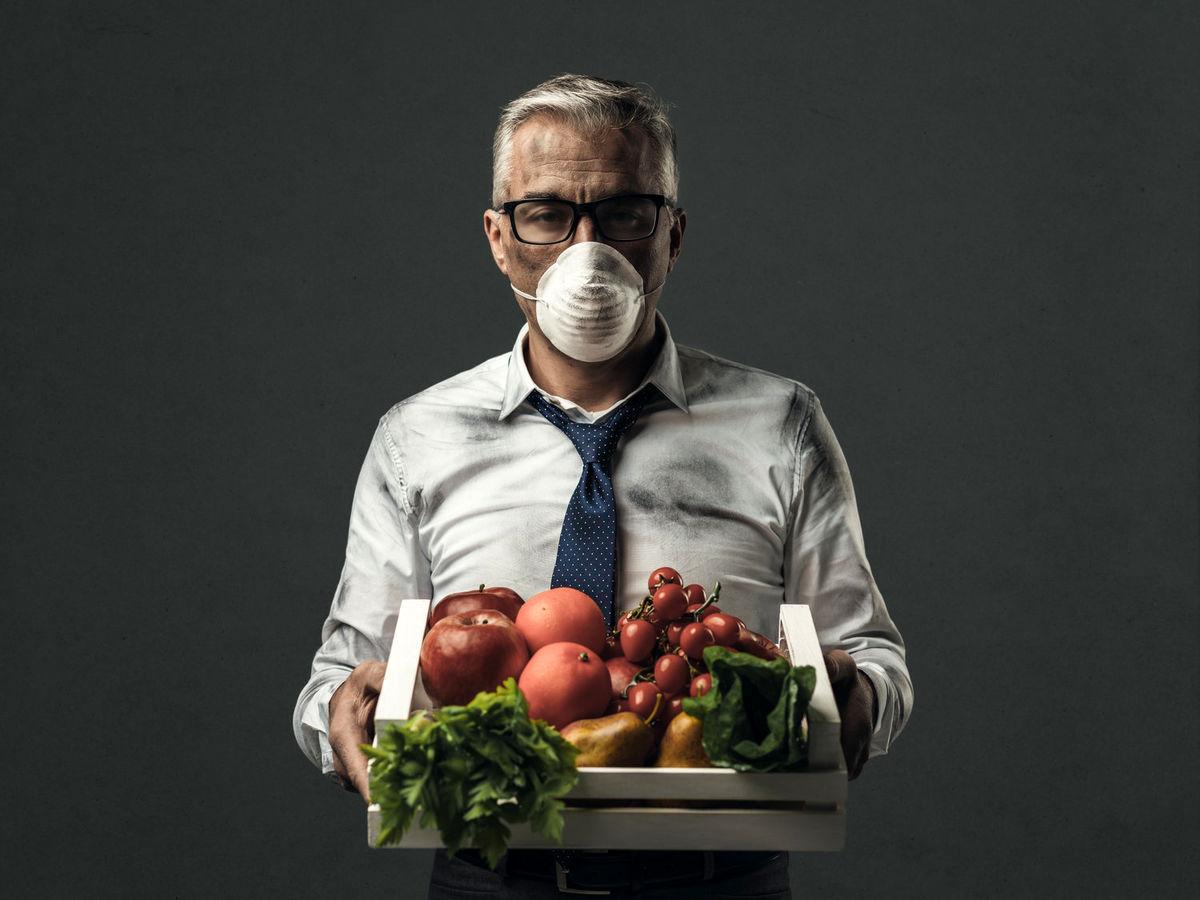 بهترین تغذیه در روزهای آلودگی هوا را بشناسید