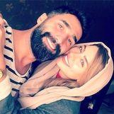 عاشقانه های هادی کاظمی و همسرش در آتلیه+عکس