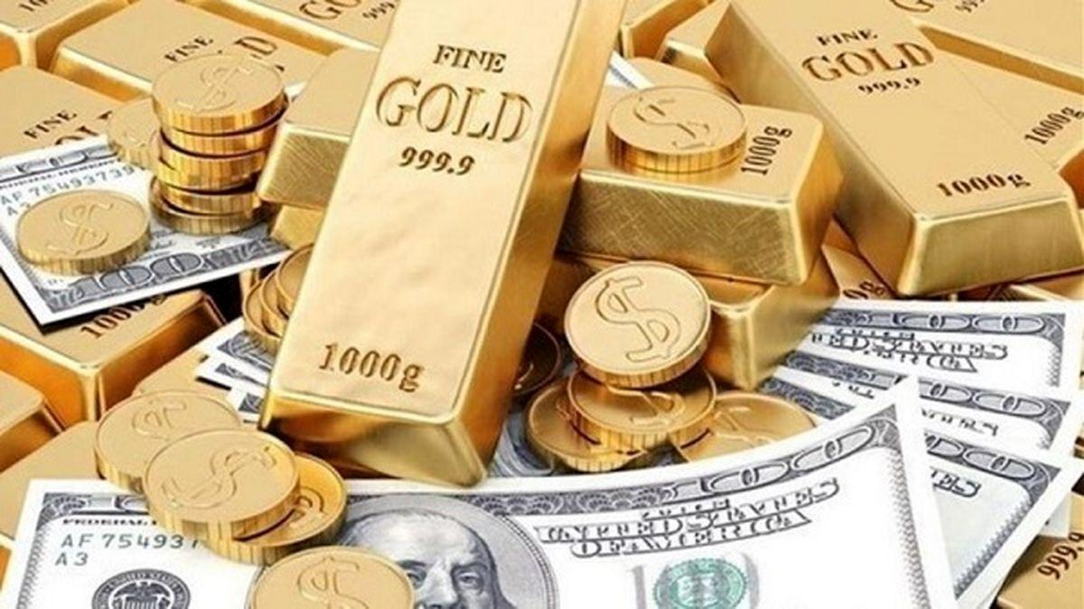 قیمت طلا، سکه و دلار | سه شنبه 2 دی