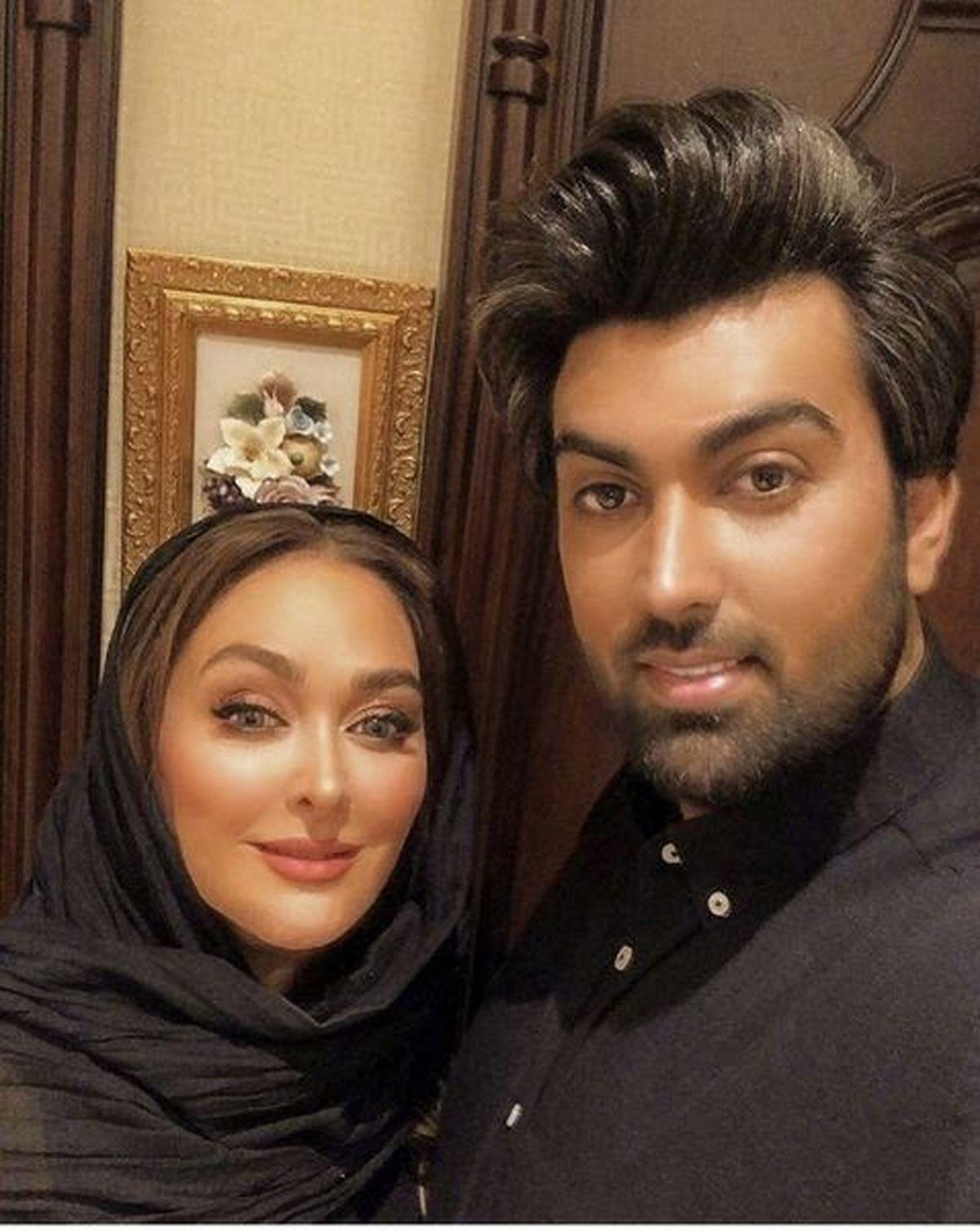 حرکات موزون همسر الهام حمیدی جنجال به پاکرد + فیلم