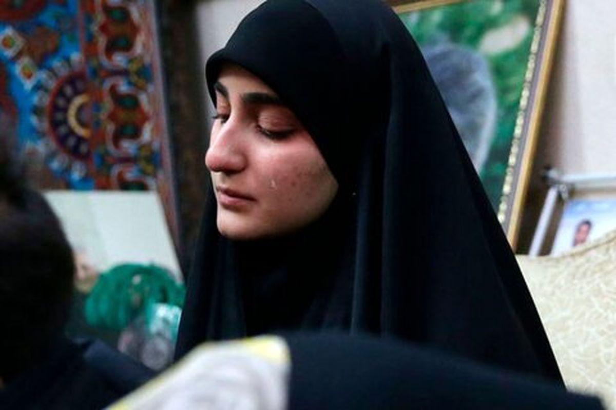 عکس دیده نشده از زینب سلیمانی در کنار پدر شوهرش + عکس