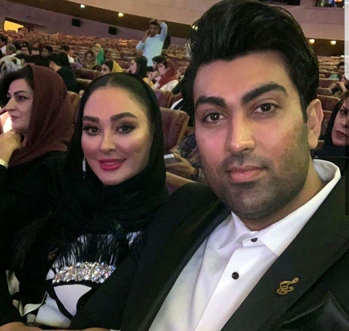 عکسهای عاشقانه و مدلینگ الهام حمیدی و همسرش + عکس