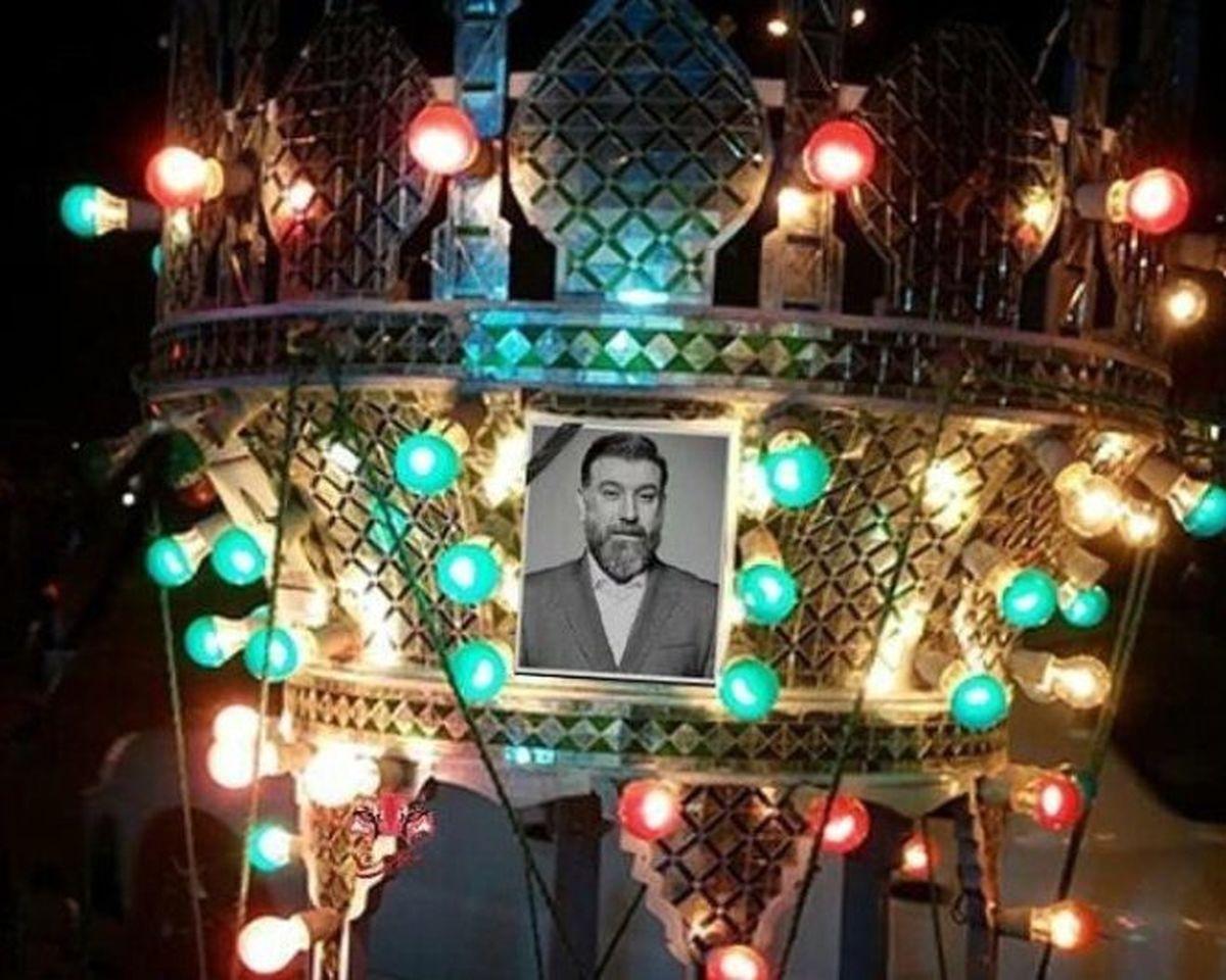 اولین عکس از سنگ قبر علی انصاریان اشک همه را درآورد+عکس