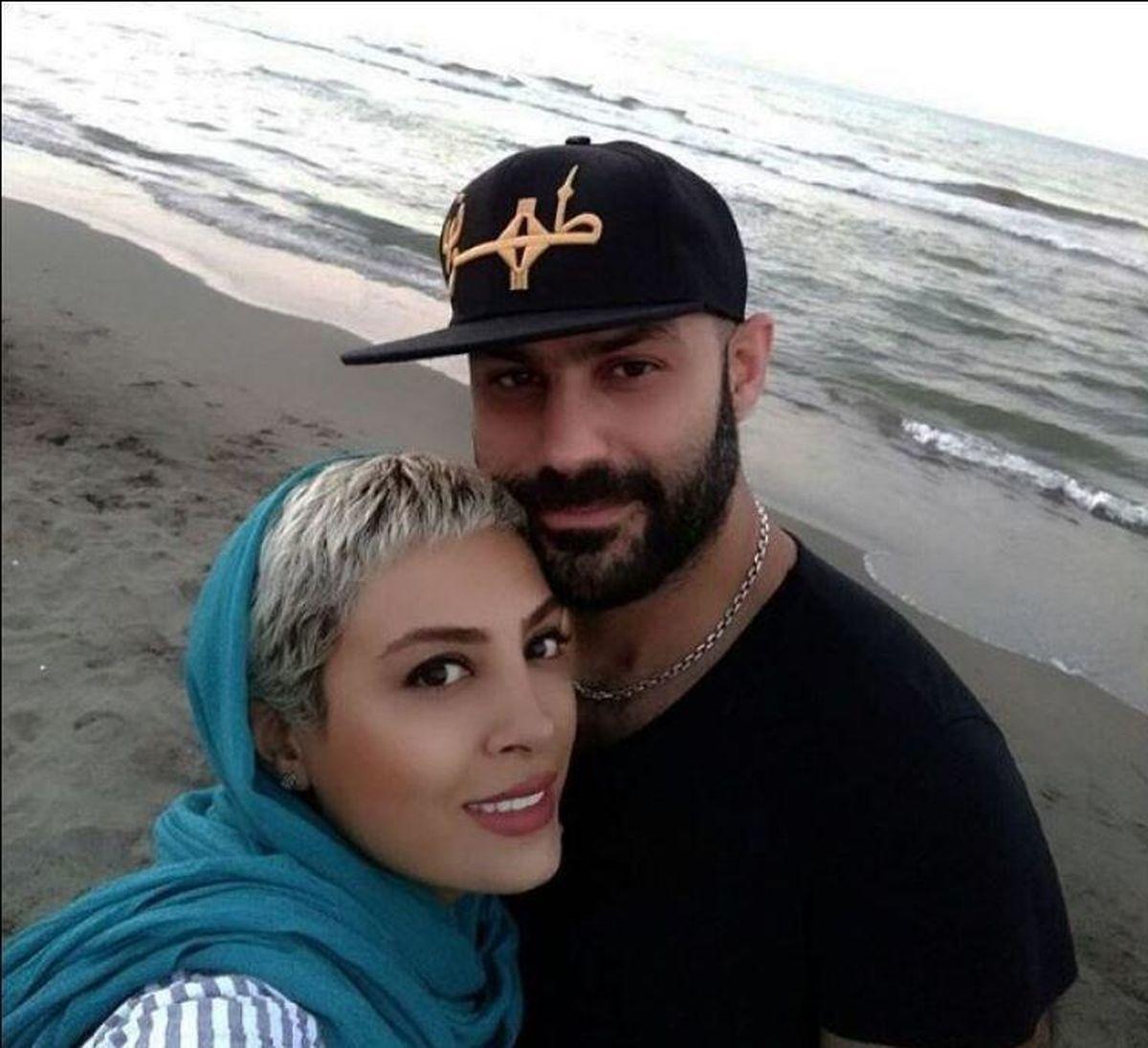 کتک خوردن حدیثه تهرانی از همسرش غوغا کرد + فیلم