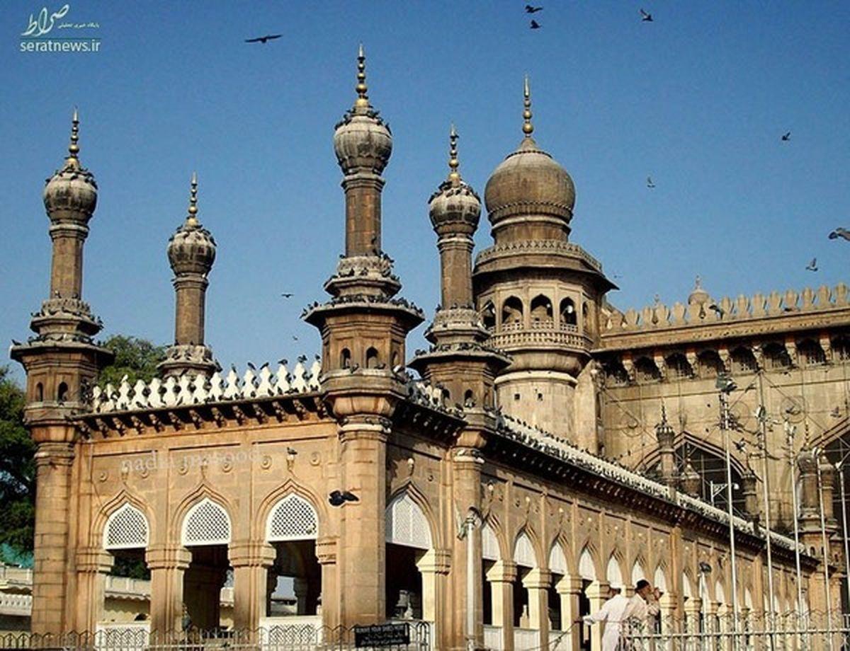 این مسجد نامش مکه است + عکس