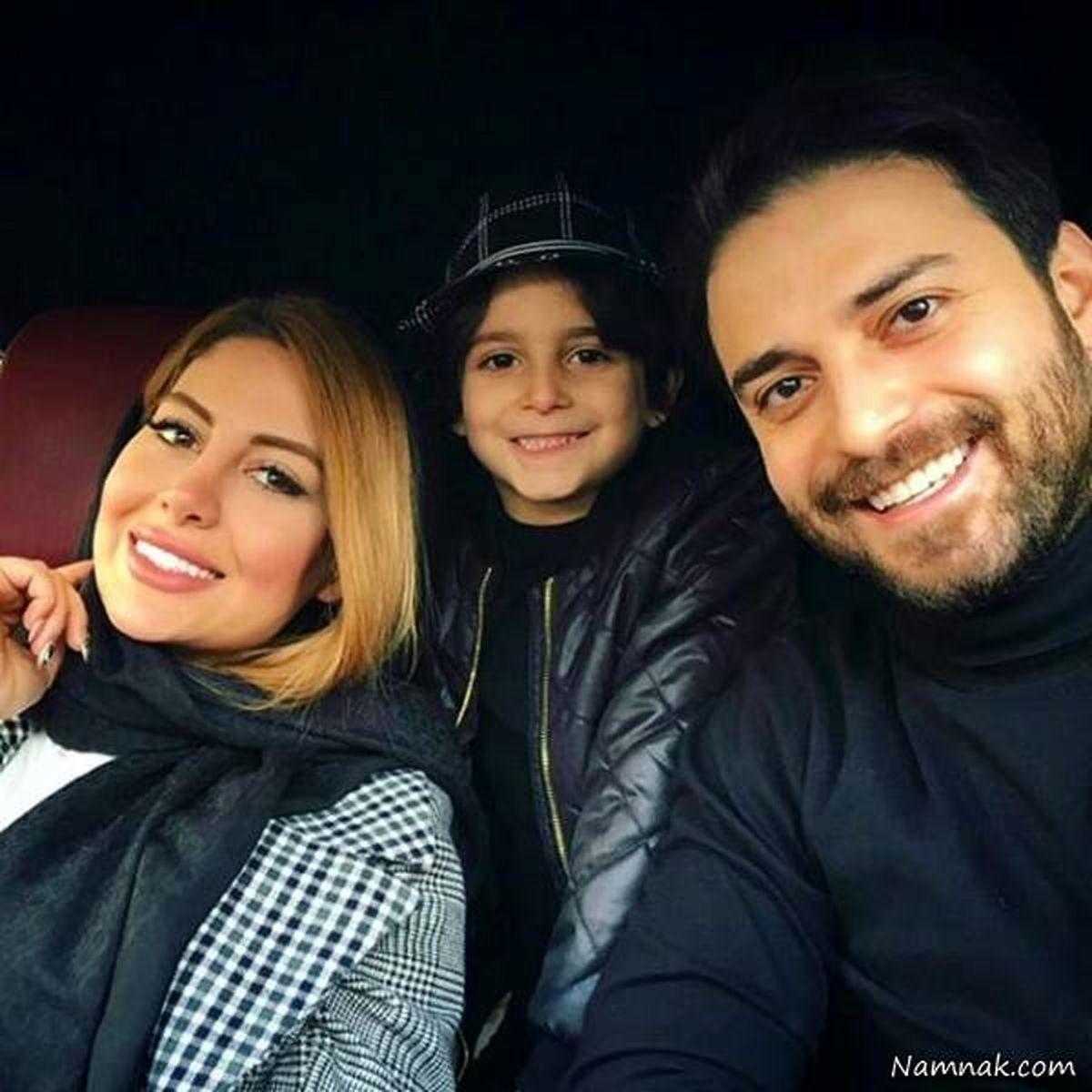 جشن تولد لاکچری پسر بابک جهانبخش در کیش + تصاویر