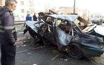 تصادف وحشتناک و خونین در تهران + عکس